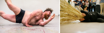 Performance Art Netzwerk, Uni Hildesheim, Workshop Jürgen Fritz, 2018 artists: Thomas Reul; Stefan Mießeler; Michael; Katerina Kitsikoudi; Johanna Johnen; Clara-MariaScheim; Carlotta Oppermann; An Malv, Violeta Ymai Barros Heckmanns; Aurelia Lohmann; Florencia Antonia Lasch Macaya;